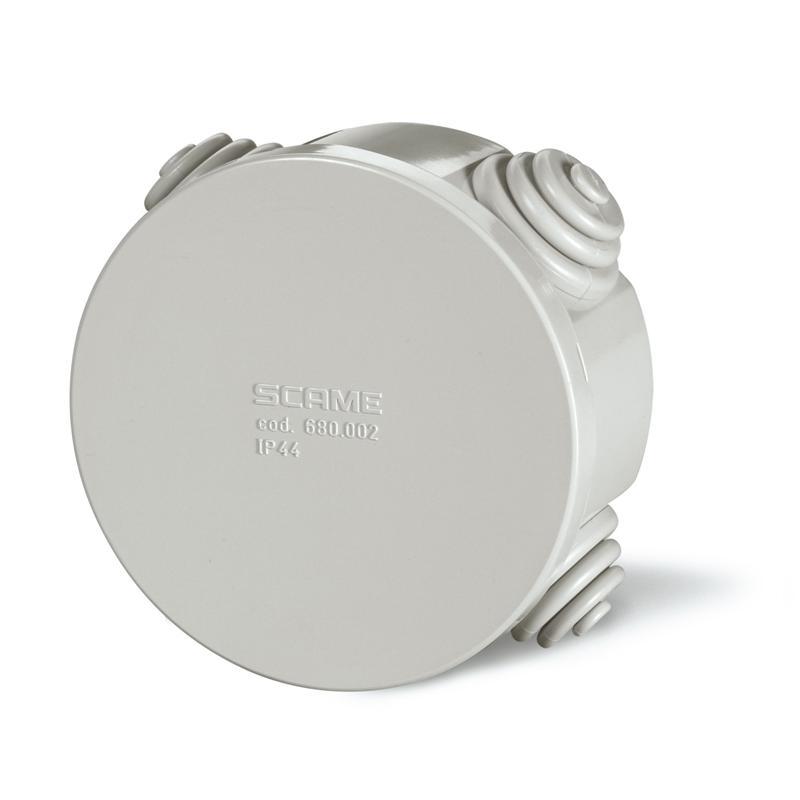 Rozbočovací krabice SCABOX IP44 - pr. 80x40mm 680.002