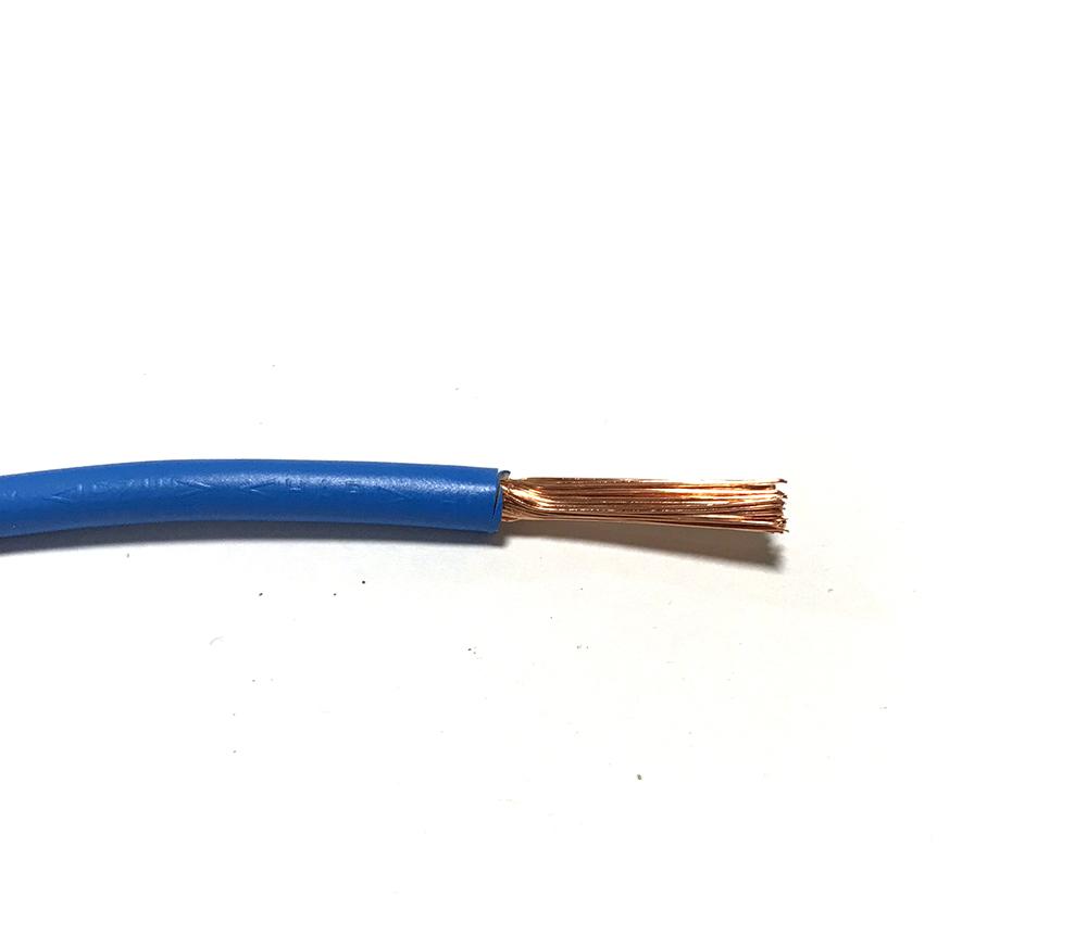 Kabel H07V-K 6 (CYA 6) Světle modrá