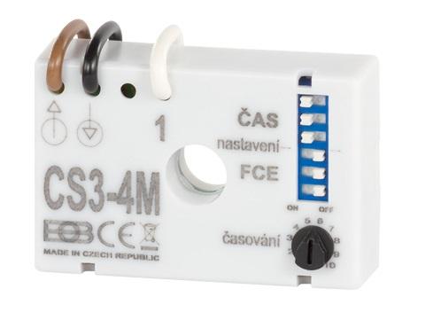 Multifunkční časový spínač CS3-4M