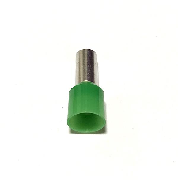 Dutinka izolovaná, průřez 16mm2 / délka 12mm, zelená