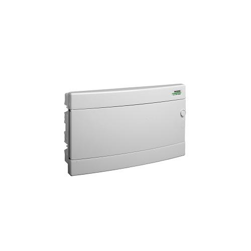 Rozvodnice plastová zapuštěná PNF 18W, bílé dveře, IP40 Noark 101519