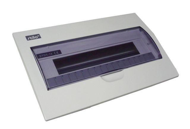 Zápustnný rozvaděč - průhledné dvířka Stilo STI609-18 SEZ