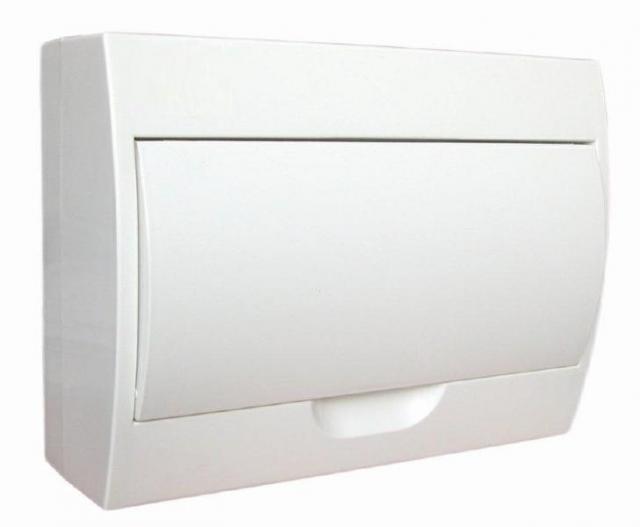 Nástěnný rozvaděč - bílé dvířka STI469-12 SEZ