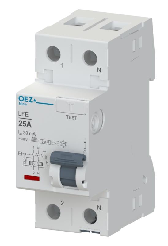 Proudový chránič LFE-25-2-030AC OEZ 42389