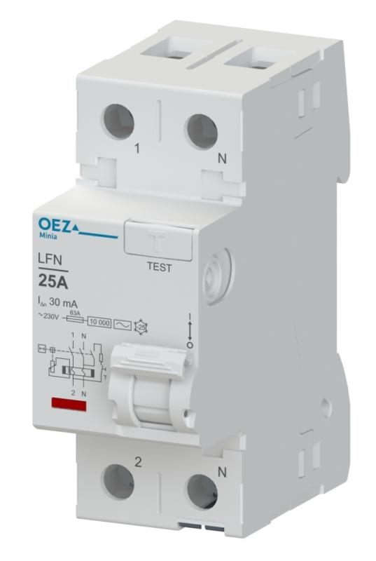 Proudový chránič LFN-25-2-030AC OEZ 42409