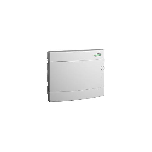 Rozvodnice plastová zapuštěná PNF 12W, bílé dveře, IP40 Noark 101518