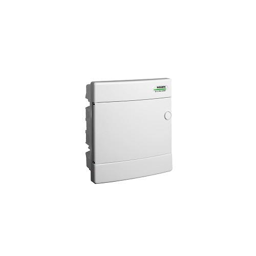 Rozvodnice plastová zapuštěná PNF 8W, bílé dveře, IP40 Noark 101517