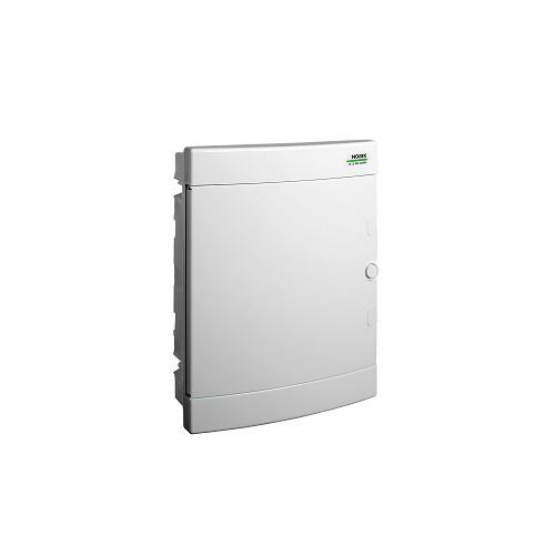 Rozvodnice plastová zapuštěná PNF 24W, bílé dveře, IP40 Noark 101520