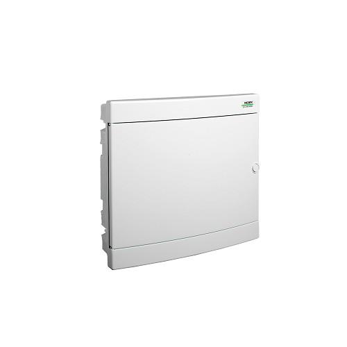 Rozvodnice plastová zapuštěná PNF 2x18W, bílé dveře, IP40 Noark 101521