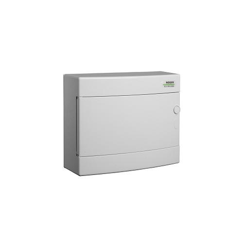 Rozvodnice plastová na omítku PNS 12W, bílé dveře, IP40 Noark 101505