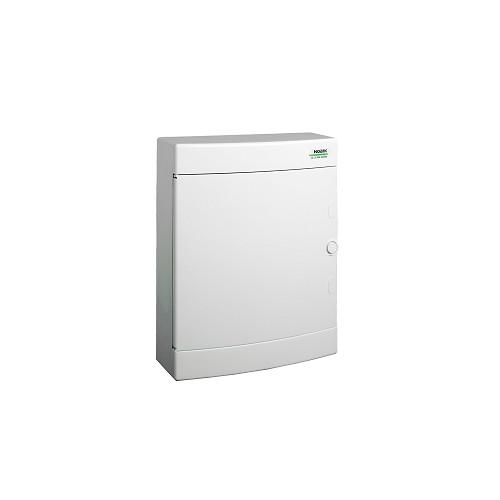Rozvodnice plastová na omítku PNS 24W, bílé dveře, IP40 Noark 101507