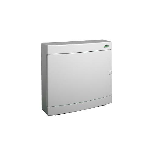 Rozvodnice plastová na omítku PNS 2x18W, bílé dveře, IP40 Noark 101508